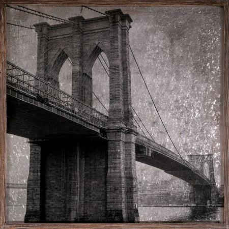 20 X Metal Bridge Galvanized Wall Art