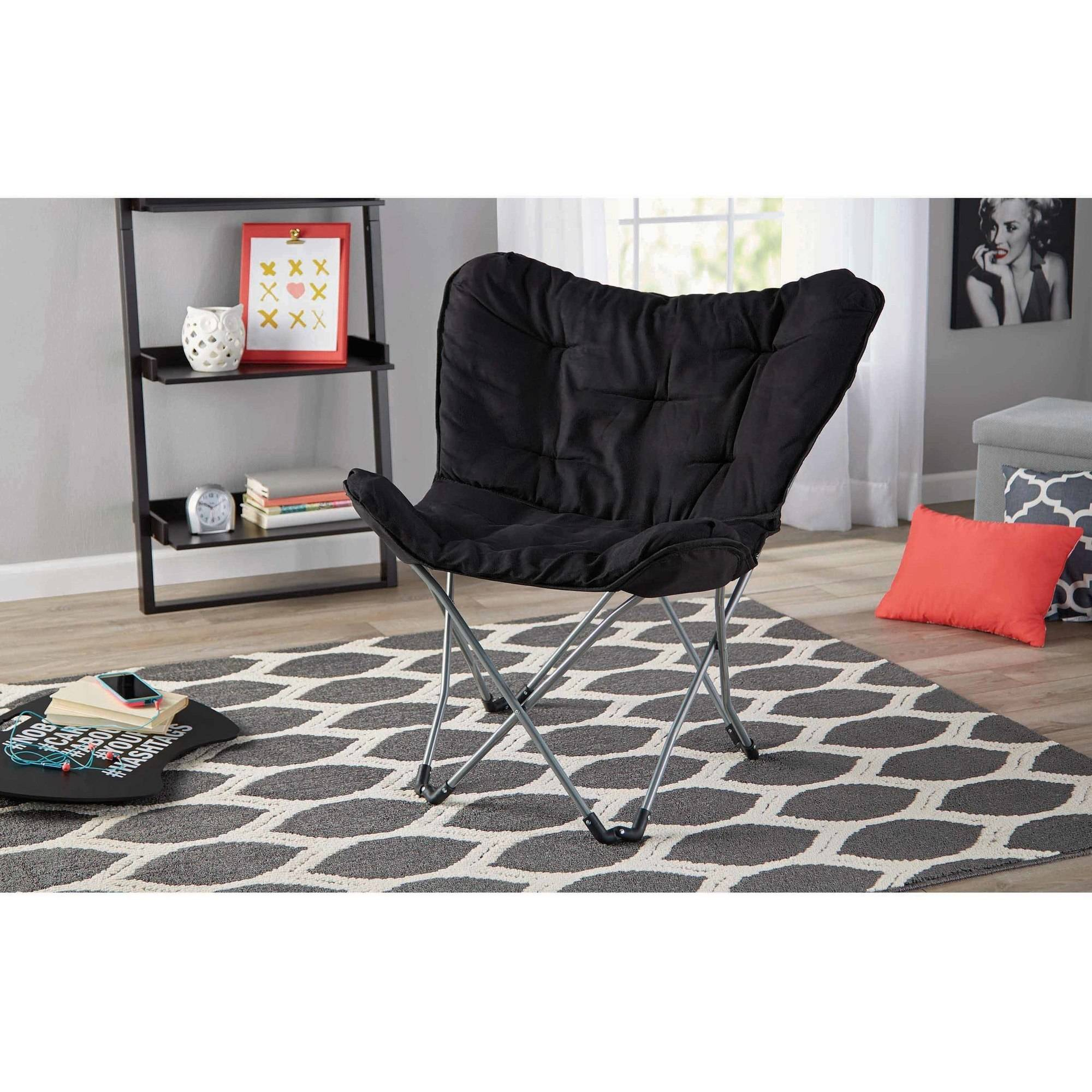 Butterfly chair black - Butterfly Chair Black 19