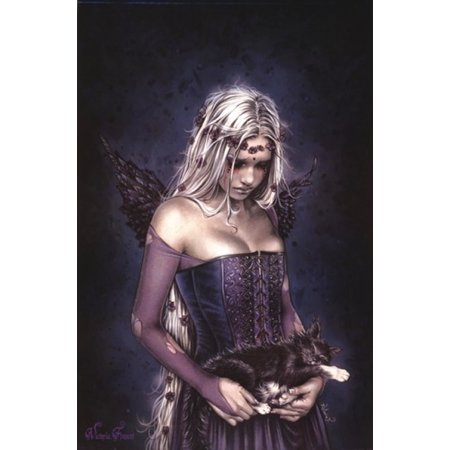 Angel Death Poster Poster Print by Victoria Frances