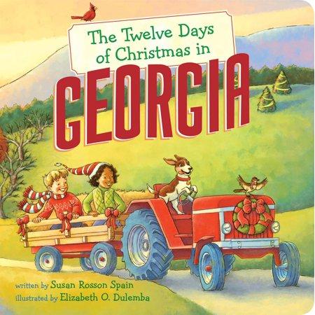 Twelve Days of Christmas in America: The Twelve Days of Christmas in Georgia (Board Book) ()