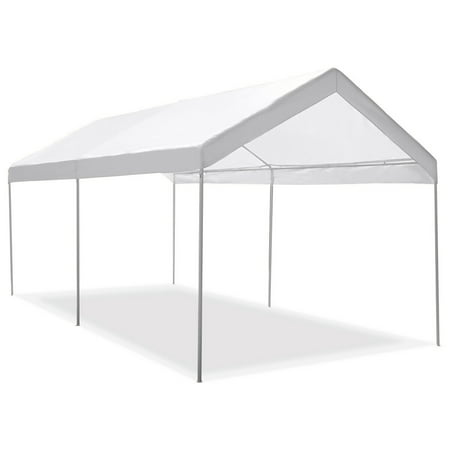 Gymax Steel Frame Party Tent Canopy Shelter Portable Car Carport Garage -