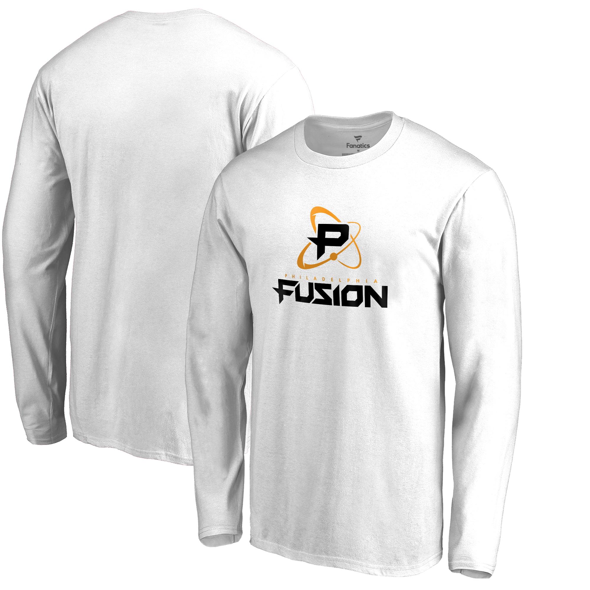 Philadelphia Fusion Fanatics Branded Team Identity Long Sleeve T-Shirt - White