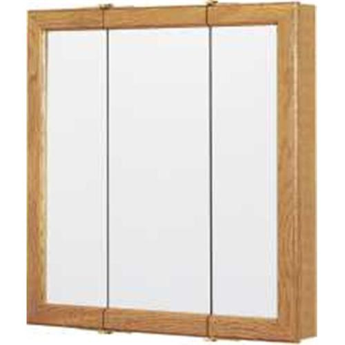 Continental Cabinets Tri-View Mirror 24 Medicine Cabinet by RSI Home Products