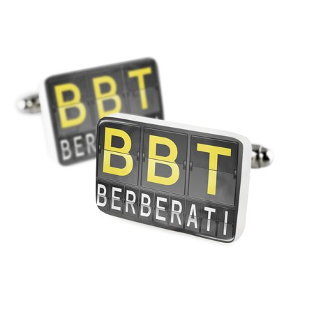 Cufflinks Bbt Airport Code For Berberatiporcelain Ceramic Neonblond
