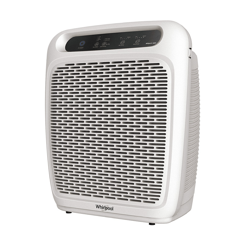 Whirlpool Air Purifier WP1000 with True HEPA filter, Allergy and Odor Reducer
