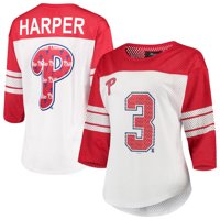 3914a23cf Product Image Bryce Harper Philadelphia Phillies G-III 4Her by Carl Banks  Women s Mesh Player 3