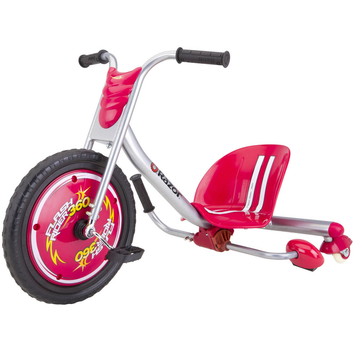 Razor Flash Rider 360 Trike Ride-On, Red
