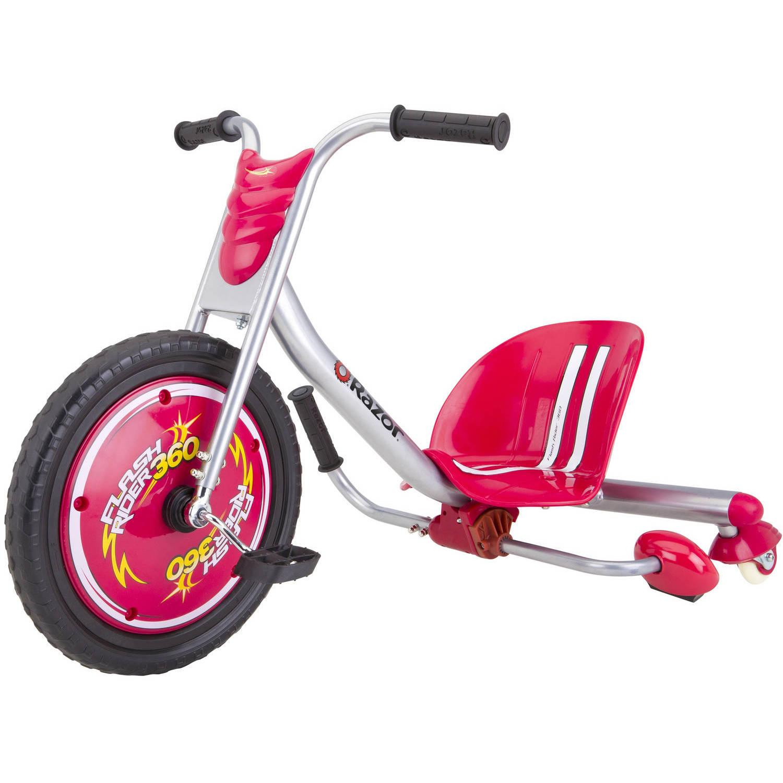 Razor Flash Rider 360 Trike Ride-On, Red