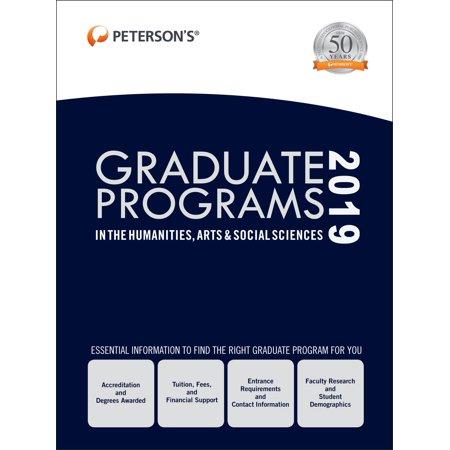 Graduate Programs in the Humanities, Arts & Social Sciences 2019 (Grad