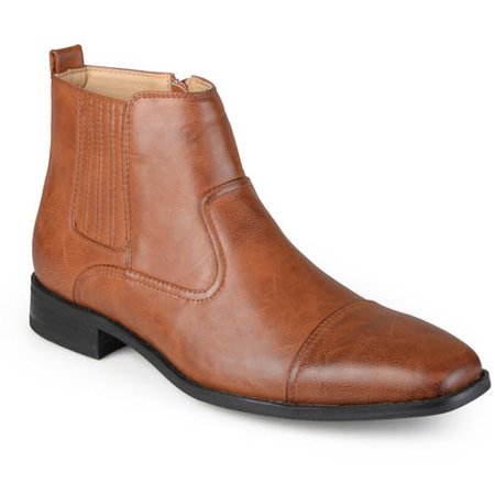 Tan Suede Boots (Daxx Men's Gabe Chelsea Boot)