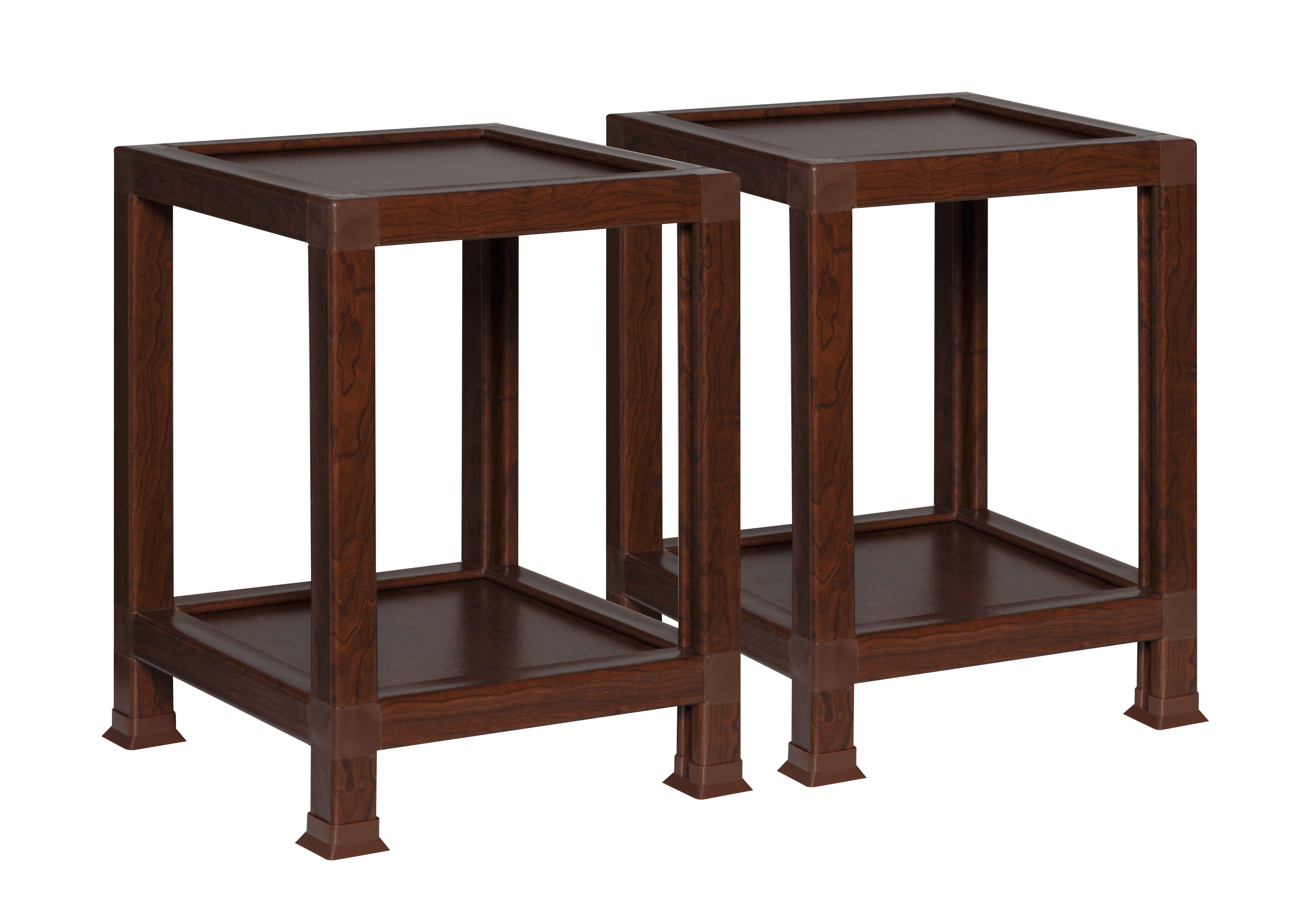 recycled paper furniture. OneSpace ECO 100% Recycled Paper End Table, Teak Furniture