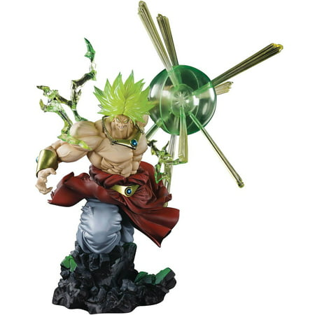 Dragon Ball Z Figuarts ZERO Super Saiyan Broly Statue [The Burning