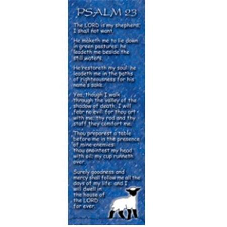 CB Gift 16069X Bookmark - Bible Basics - Psalm 23