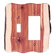 Sierra Lifestyles Rustic - Toggle / rocker Unfinished - Juniper