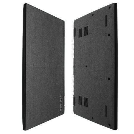 Skinomi Brushed Steel Skin   Screen Protector For Toshiba Satellite Radius 14   2015