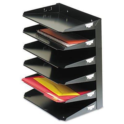 mmf2646hbk - mmf steelmaster multi-tier horizontal letter organizers