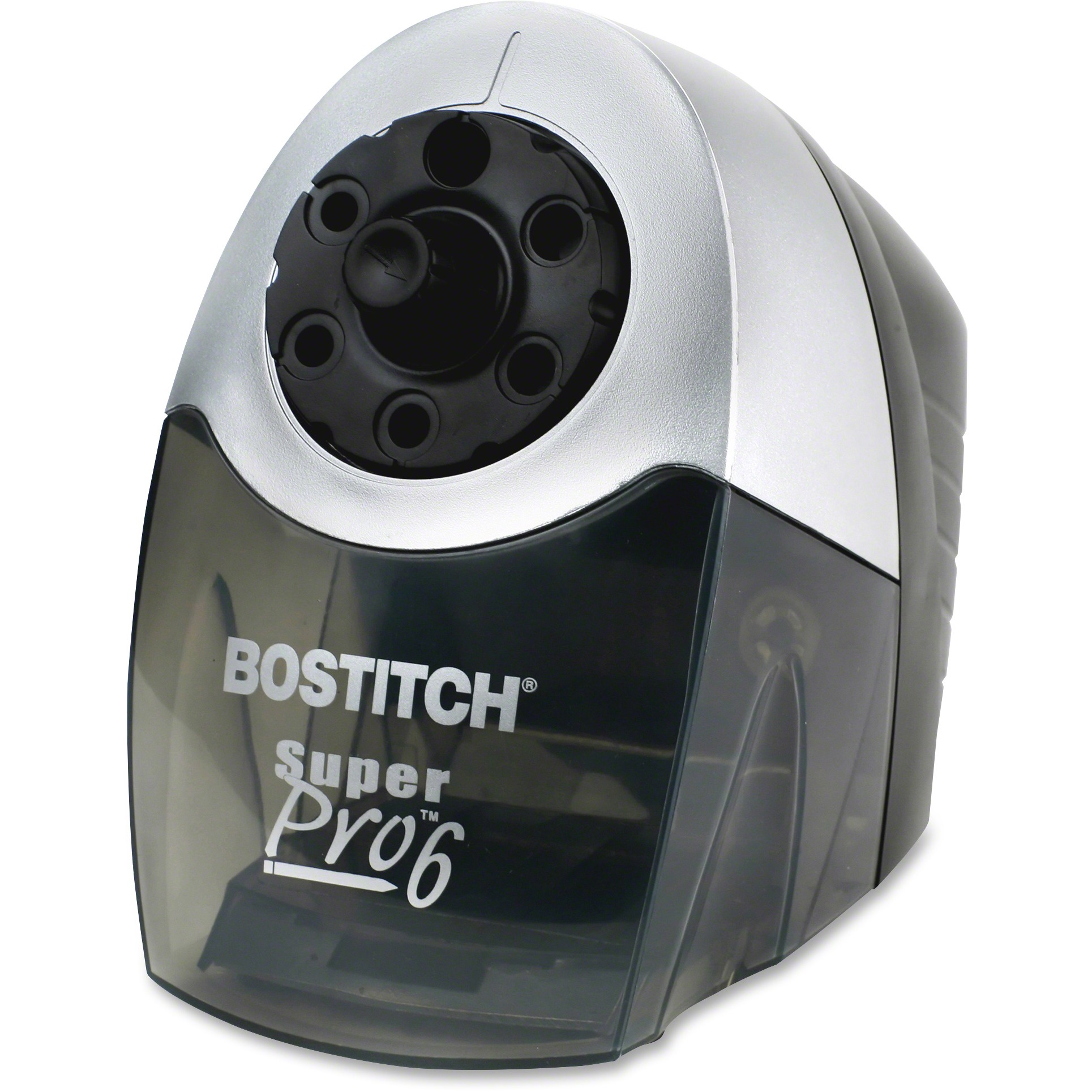 Bostitch Super Pro 6 Commercial Electric Pencil Sharpener, Gray Black by Amax Inc