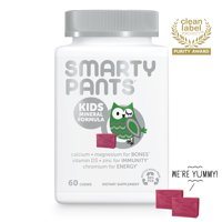 SmartyPants Vitamins Kids Mineral Formula