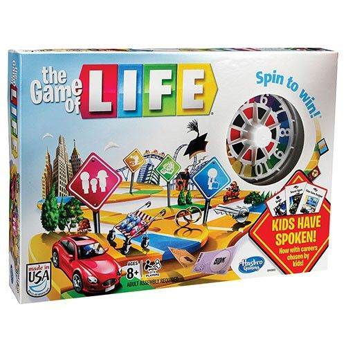 Life Classic Board Game From Milton Bradley by Athletic Connection