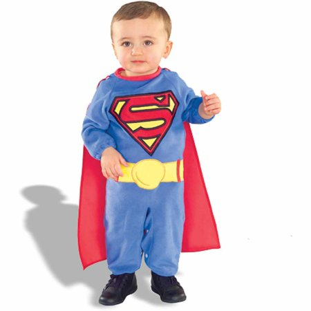 superman infant halloween costume size 6 12 months - Walmart Halloween Costumes For Baby