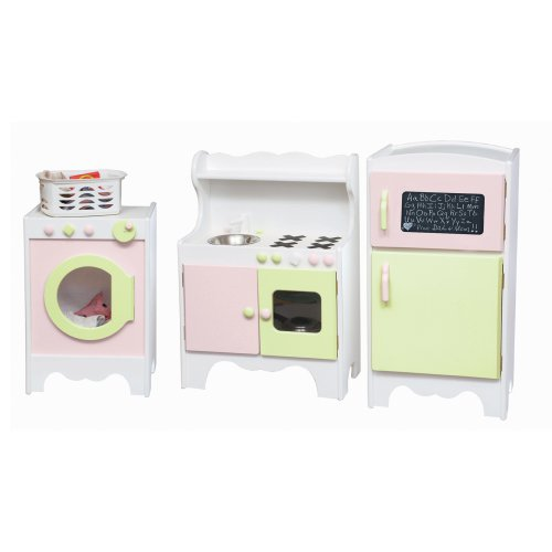 Little Colorado 3 Piece Painted Play Kitchen Room Set