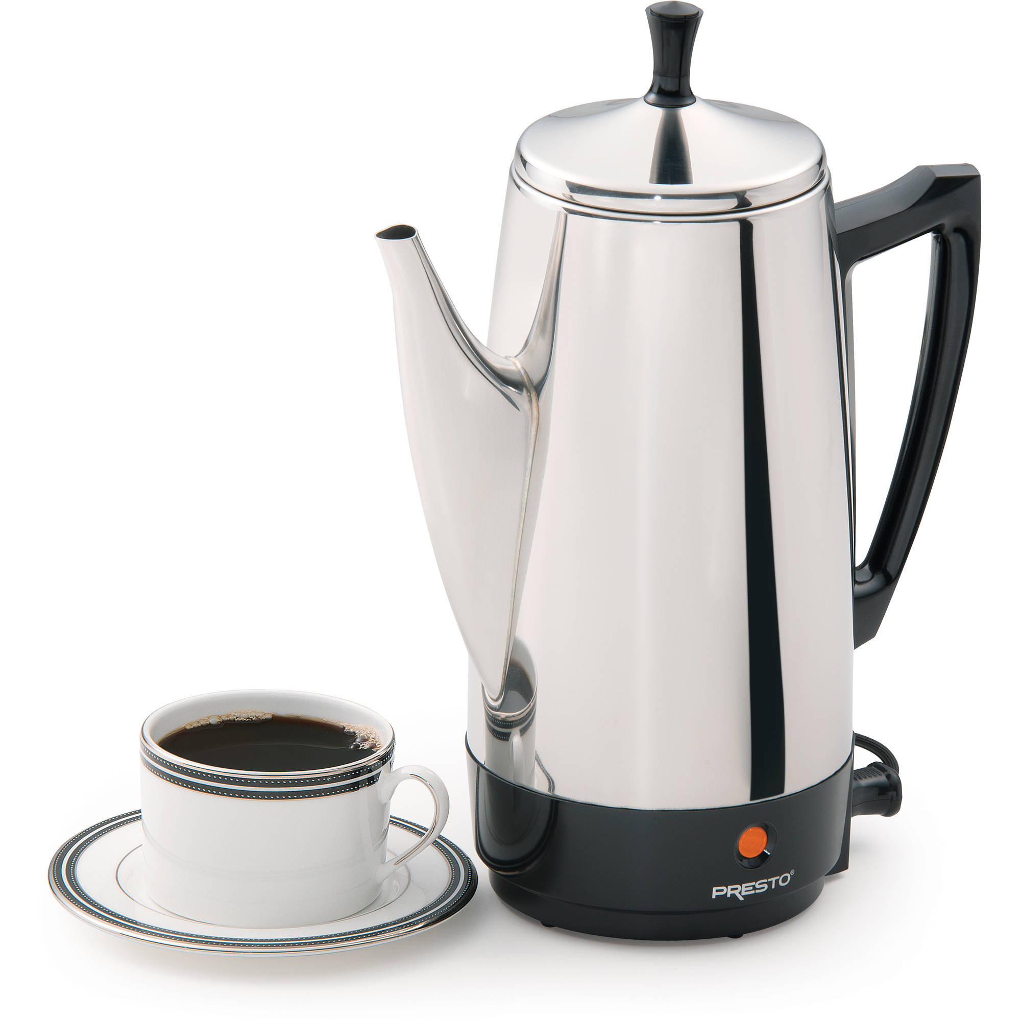 Presto 12-Cup Stainless Steel Coffeemaker