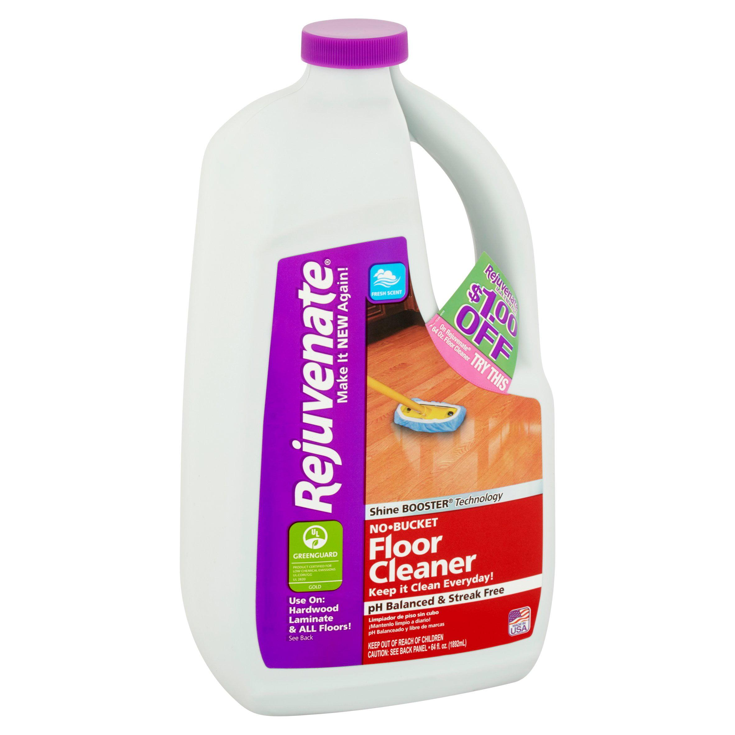 competitive price 59b6d 5d7b2 Rejuvenate Fresh Scent No-Bucket Floor Cleaner, 64 fl oz - Walmart.com