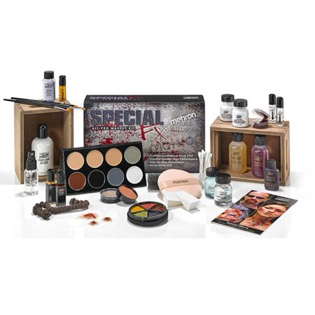 Special Effects Kit Professional FX All Pro Makeup Make Up Complete - Halloween Special Effects Makeup Tutorials