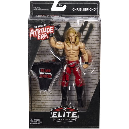 Chris Jericho - WWE Best of Attitude Era Exclusive Toy Wrestling Action