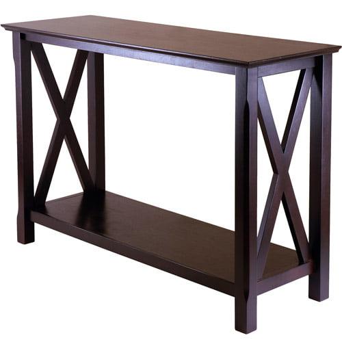 Xola Console Table Cappuccino Walmart Com