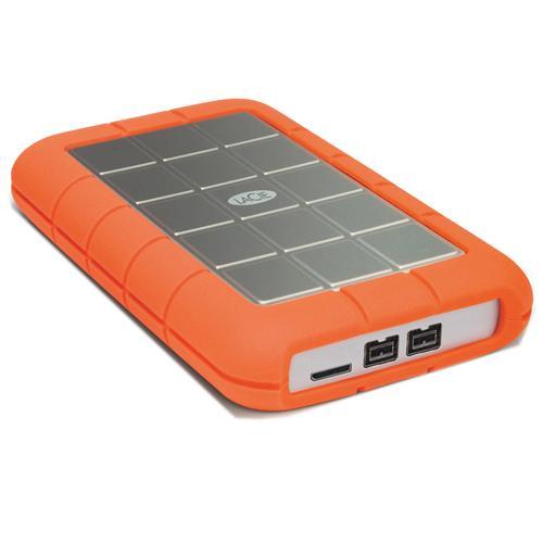 LaCie Rugged Hard Disk Triple (USB 3.0, 2-ports FW800) 2T...