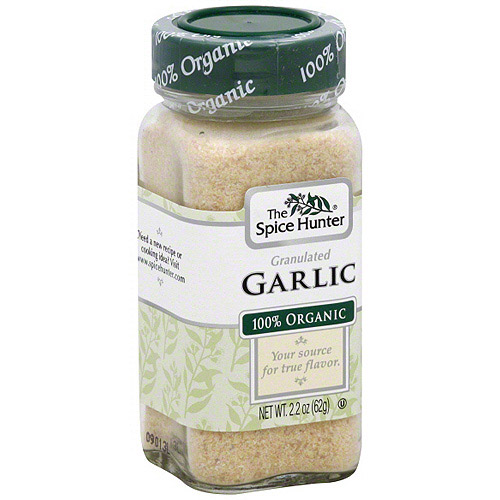 The Spice Hunter Granulated Garlic, 2.2 oz (Pack of 6)