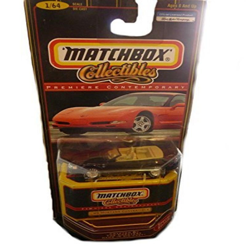 1:64 Scale Matchbox Collectibles Premier '99 Mustang Convertible by