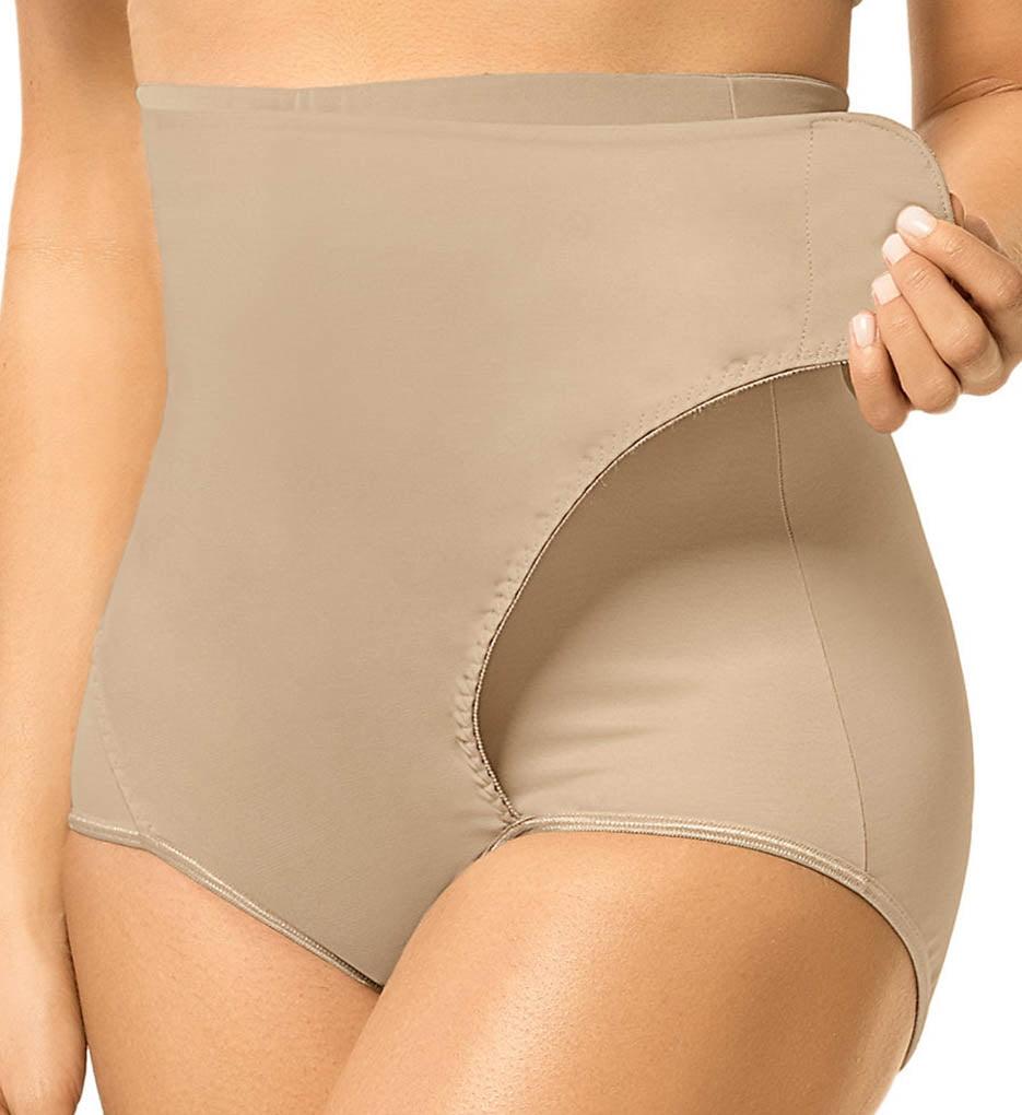 Leonisa 12885 High Waist Postpartum Panty with Adjustable Wrap ...