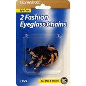 Good Sense Fashion Eye Glass Chains 2 Pk (36 Units Included)