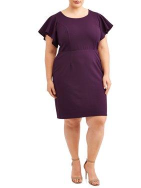 61cbebd7f37 Purple Womens Plus Dresses   Jumpsuits - Walmart.com