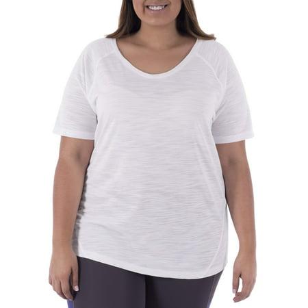 5433982be22aa Terra   Sky Women s Plus Size Casual Short Sleeve Tee - Walmart.com