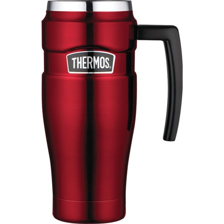 - Thermos SK1000CRTRI4 Stainless King Mug, 16oz (cranberry Red)