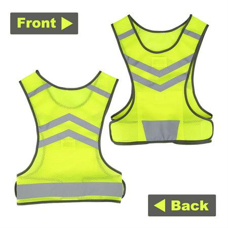 Garosa High Visibility Adjustable Reflective Safety Vest for Outdoor Sports Cycling Running Hiking,Sport Vest, Safety Vest - image 1 of 5