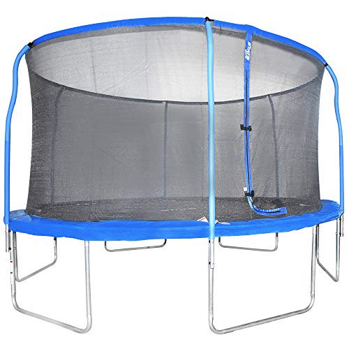 Outdoor Heights Trampoline with Safety Enclosure - 14ft ...