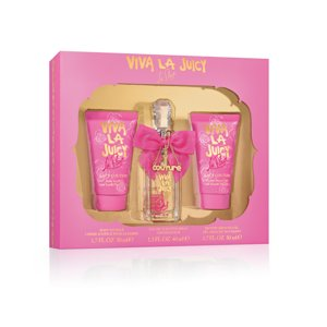Juicy Couture Viva la Fleur Fragrance Gift Set for Women, 3 pc