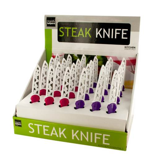 Steak Knife with Hearts Cover - Set of 12