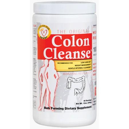 Health Plus limpieza de colon en polvo sabor natural 390 mg