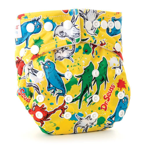 Bumkins One Fish All in One Cloth Diaper
