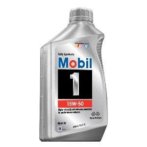 SYNTHETIC MOTOR OIL (15W50) 1 QUART, 6-PACK