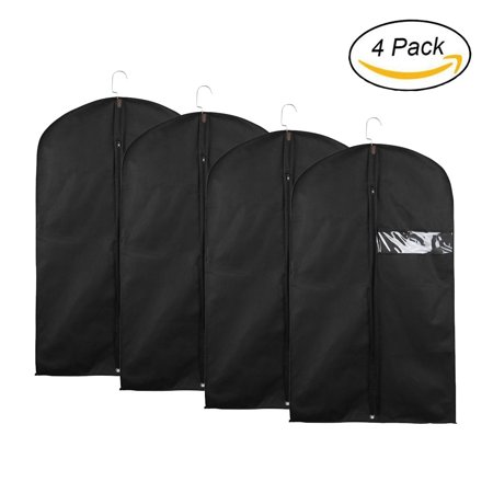 """40"""" Compactable Garment Bag for Suits and Dresses,1/2/4 Pack"""