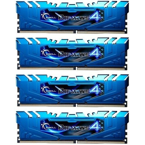 G.SKILL Ripjaws 4 Series 16GB (4 x 4GB) 288-Pin DDR4 SDRAM DDR4 3000 (PC4 24000) Memory Kit Model F4-3000C15Q-16GRBB