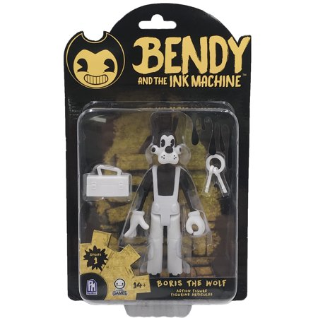 Bendy and the Ink Machine Boris Action Figure (Bendy From Bendy And The Ink Machine)