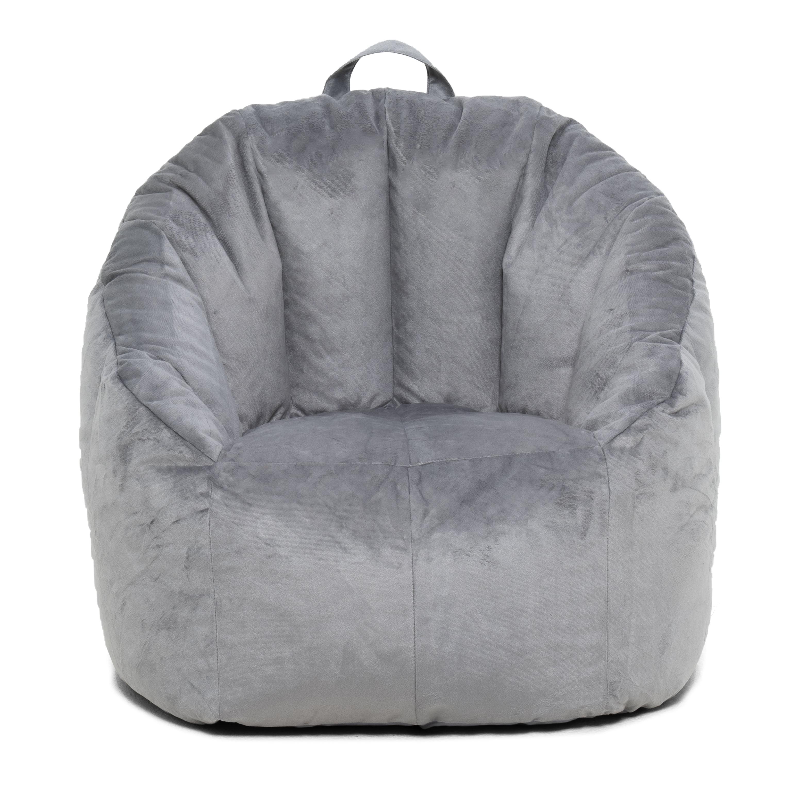 Super Big Joe Joey Bean Bag Chair Gray 28 5 X 24 5 X 26 5 Pabps2019 Chair Design Images Pabps2019Com