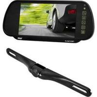 Pyle Vehicle Camera 7IN MIRROR MNT DISP WL HANDS FREE